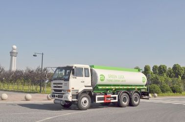 ประเทศจีน 5,944 US Gallon 320HP Aluminum Alloy Oil Tank Truck with 6x4 DongFeng Nissan Diesel Chassis ผู้จัดจำหน่าย